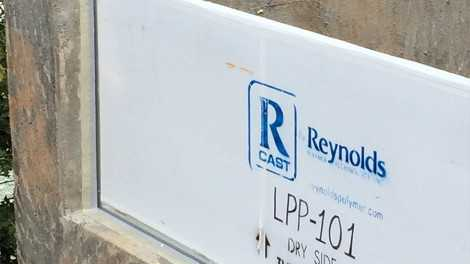 Installed acrylic panel (B) - Installed acrylic panel (B)