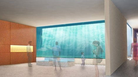 Cape Greco Aquarium Rendering