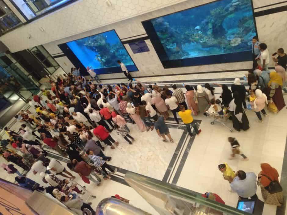 Completed Hurghada City Center Aquarium