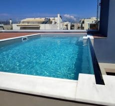 Completed Hotel Acrylic Swimming Pool