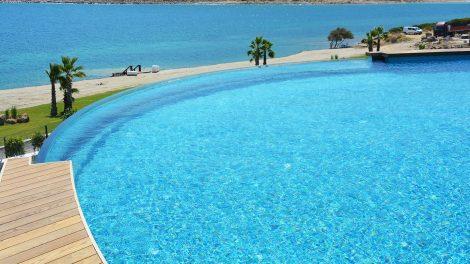 Completed Waterproofed Pool - Completed Waterproofed Pool