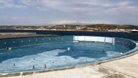 Swimming Pool Before the Waterproofing - Swimming Pool Before the Waterproofing