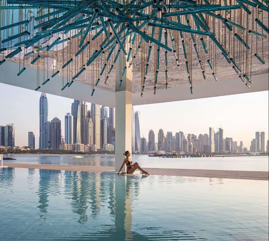 Infinity Swimming Pool Transparent Walls
