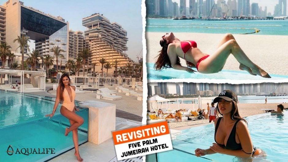 Five Palm Jumeirah Infinity Swimming Pool