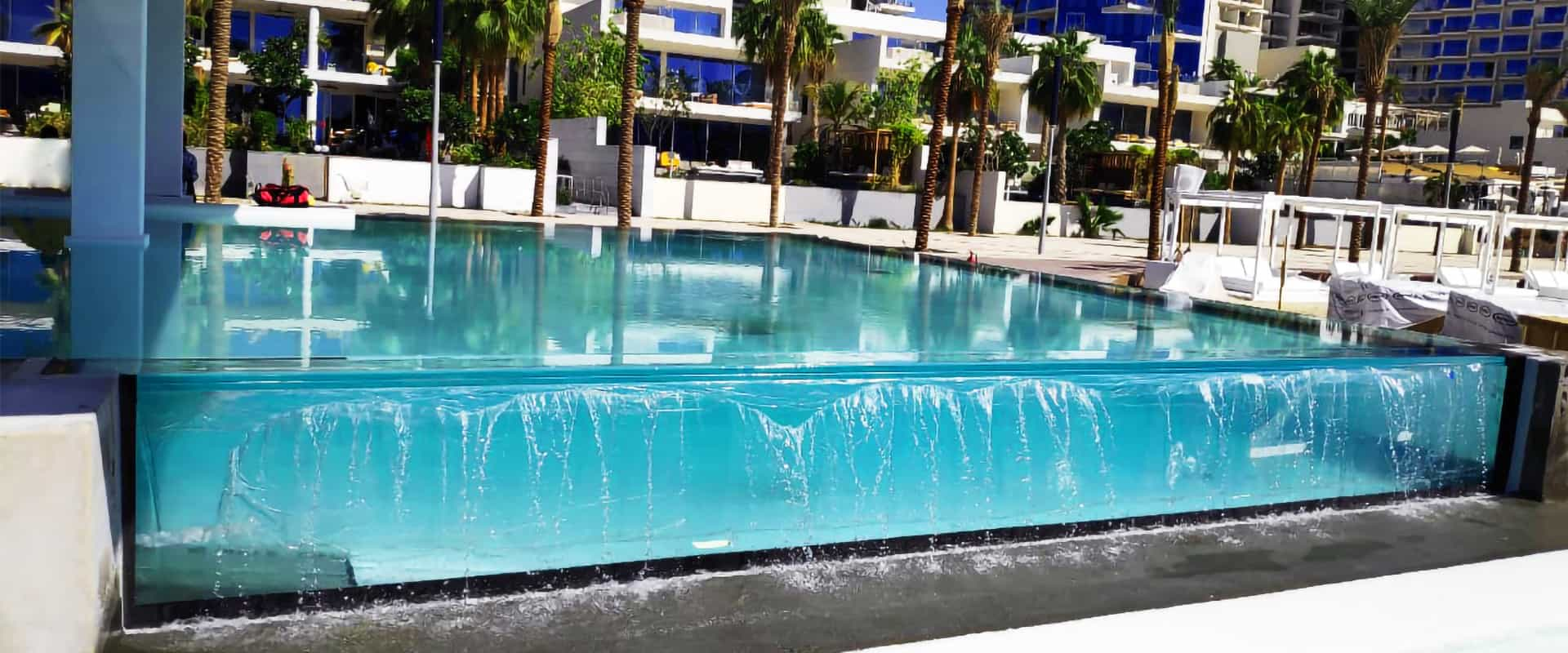 Acrylic Infinity Swimming Pools